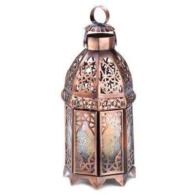 Coppery Moroccan Lantern