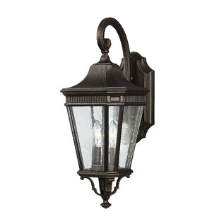 Compare Chilhowee 2-Light LED Outdoor Wall Lantern By Darby Home Co