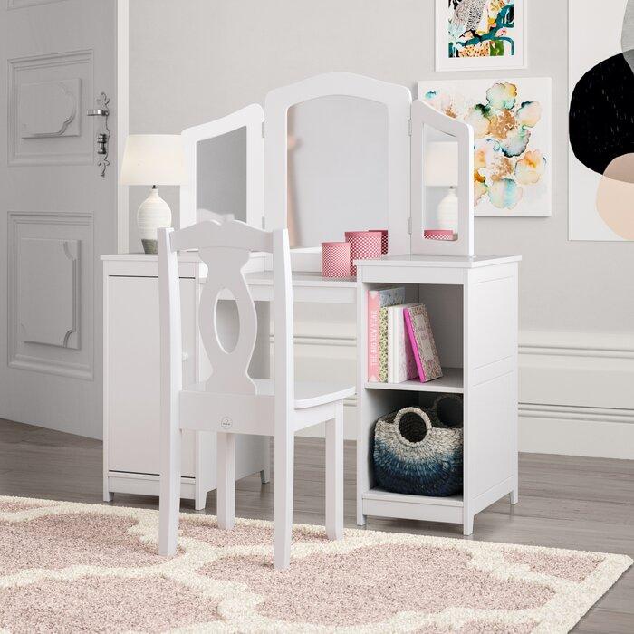 sale retailer 6dcc5 4a45d Deluxe Vanity & Chair