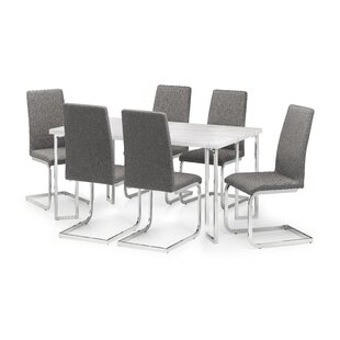 Wickline Dining Set With 6 Chairs By Metro Lane