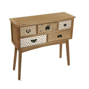 Garnich 5 Drawer Console Table By Latitude Vive