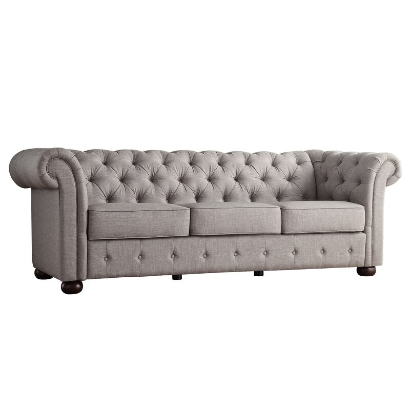 Vegard Tufted Chesterfield Sofa