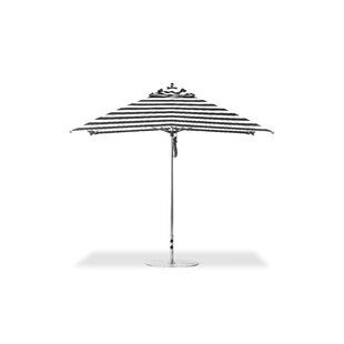 Santana 10' Square Market Umbrella by Rosecliff Heights