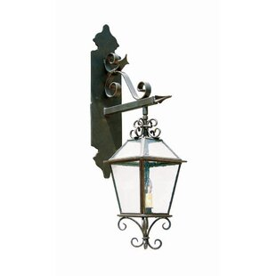 Compare prices Palermo 2-Light Outdoor Wall Lantern By 2nd Ave Design