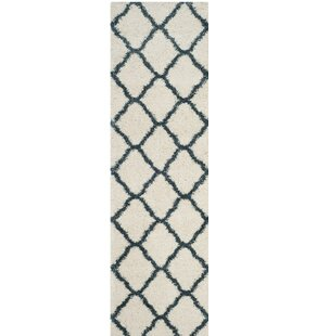 Melvin Beige/Blue Area Rug by Charlton Home