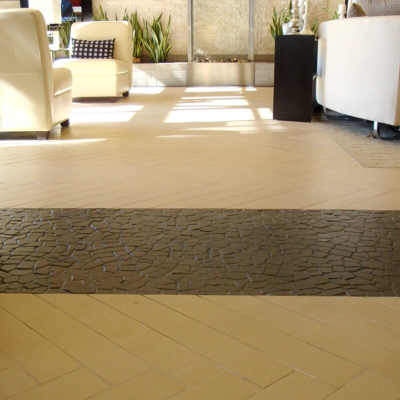 Fit Random Sized Natural Stone Pebble Tile