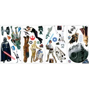 Popular Characters Star Wars Classic Wall Decal By Room Mates