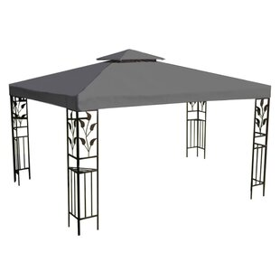Bonin 3m X 4m Steel Patio Gazebo By Sol 72 Outdoor
