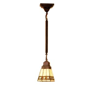 Meyda Tiffany Diamond Mission 1-Light Lantern Pendant