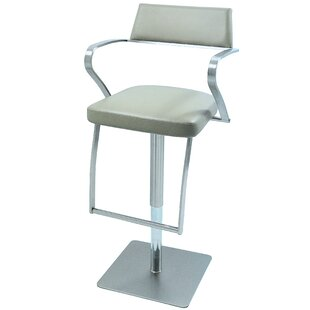 Harwich Adjustable Height Swivel Bar Stool