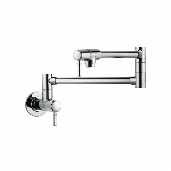 wall mount kitchen faucets modern wall mounted kitchen faucets allmodern
