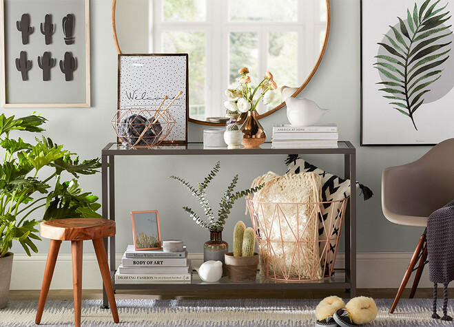 Your Console Table Can Be A Lot Of Things: A Spot To Drop Keys, A Perch For  Platters Of Foodu2014and Our Personal Favoriteu2014a Total Style Statement. But How  Do ...