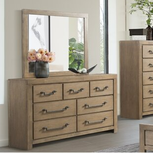 Schwab 7 Drawer Dresser with Mirror