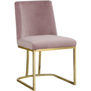 Orren Ellis Seppich Upholstered Dining Chair (Set of 2)