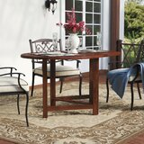 Pine Ridge Folding  Solid Wood Dining Table