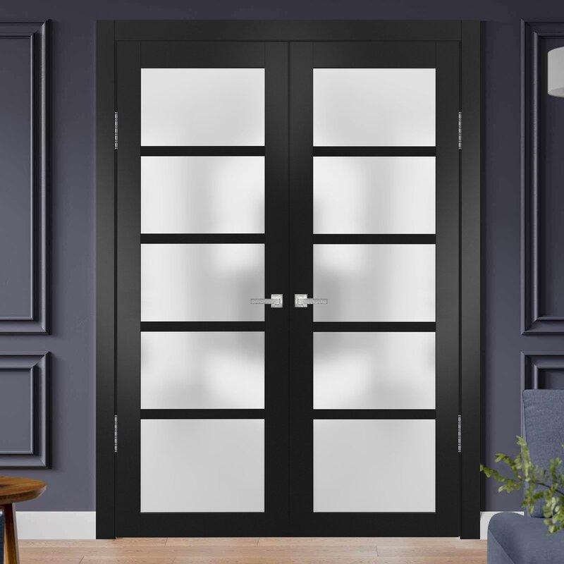 Sartodoors Quadro Glass French Doors Wayfair