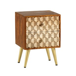 Rosemont Side Table With Storage By World Menagerie
