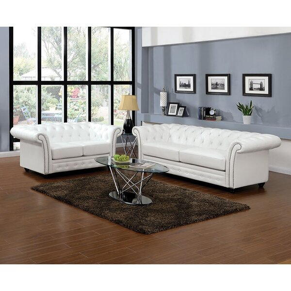 Au0026J Homes Studio Camden Chesterfield Sofa | Wayfair