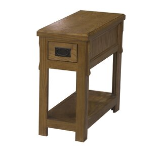 Gus End Table with Storage