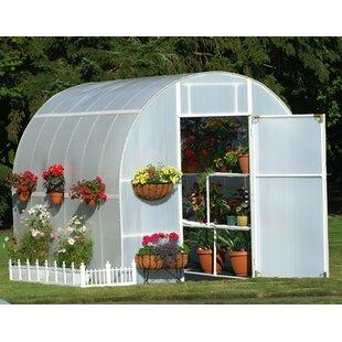 Solexx Gardeners Oasis 8 Ft. W x 12 Ft. D Greenhouse