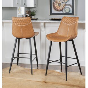 Briceno 30 Bar Stool Union Rustic