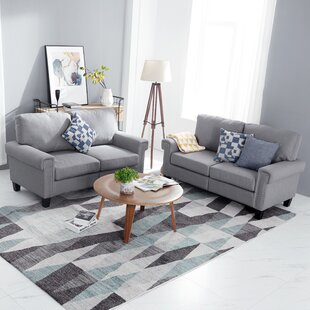 Price Check Niehaus 2 Piece Living Room Set by Charlton Home Reviews (2019) & Buyer's Guide