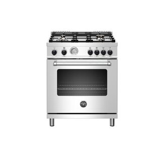 Master Series 30 Free-standing Gas Range with Griddle by Bertazzoni