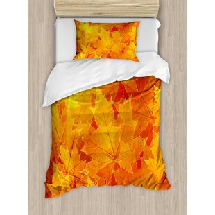 Fall Duvet Set by Ambesonne