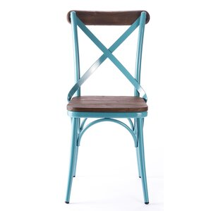 Metal Side Chair (Set of 2) by Laurel Foundry Modern Farmhouse