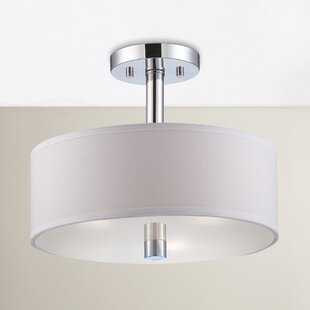 Wittig 3-Light Semi Flush Mount by Latitude Run