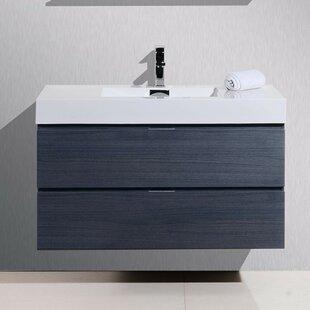 Tenafly 40 Single Wall Mounted Bathroom Vanity Set By Wade Logan