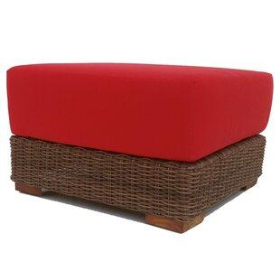 Santa Barbara Ottoman with Cushion by ElanaMar Designs