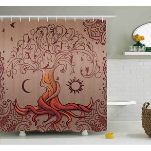 Beaufort Charming Vintage Tree Single Shower Curtain