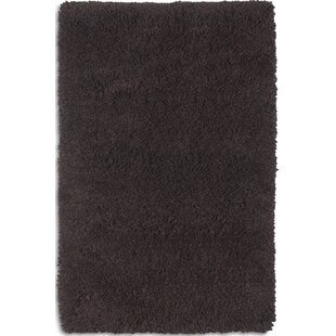 Arctic Hand-Woven Black Area Rug by Plantation Rug