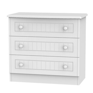 Saxena 3 Drawer Chest By Brambly Cottage