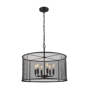 Clementine 6-Light Drum Pendant by Breakwater Bay