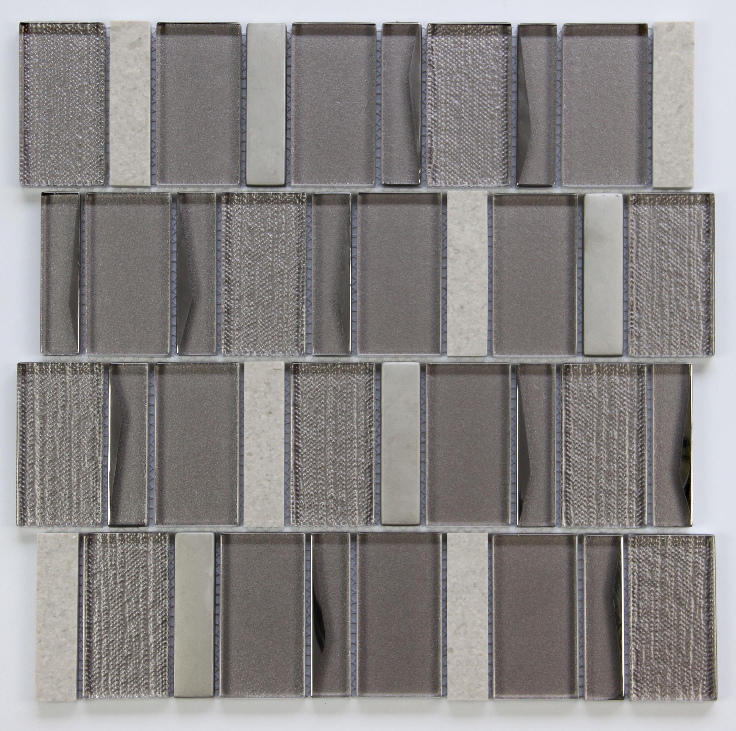 Polaris Random Sized Gl Mosaic Tile
