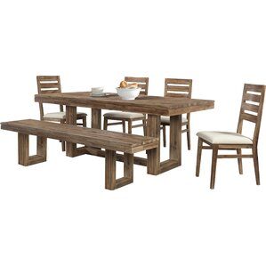Ciera 6 Piece Dining Set by Union Rustic