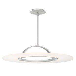 Orren Ellis Zamir 1 Light Convertible Semi Flush Mount