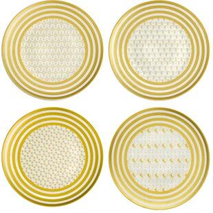 Denzil Persian Carpet Dinner Plate (Set of 4)