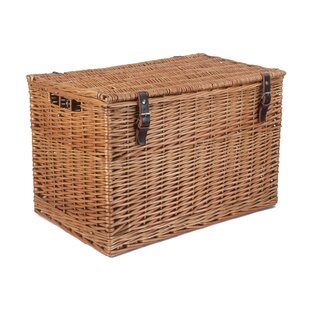 Stephon Light Steamed Hamper Trunk By August Grove