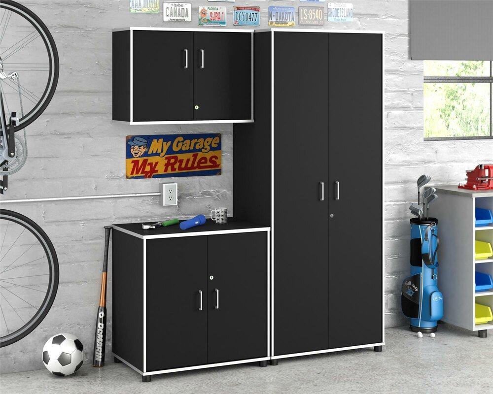 tall black storage cabinet. Apollo 74.3\ Tall Black Storage Cabinet L