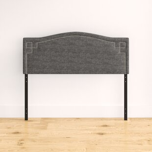 Mitchem Upholstered Panel Headboard by House of Hampton