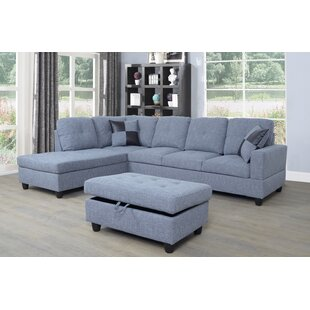Ebern Designs Riehlin Sectional with Otto..