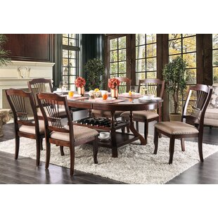 Charlton Home Ranstead 7 Piece Extendable Dining Set