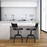Calay Swivel Adjustable Height Stool by Latitude Run®