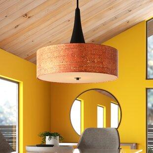 Contemporary 3 Light Cascade Pendant