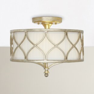 Alcott Hill Ellicott Mills 3-Light Semi Flush Mount