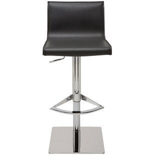 Compare prices Colter Adjustable Height Swivel Bar Stool by Nuevo Reviews (2019) & Buyer's Guide