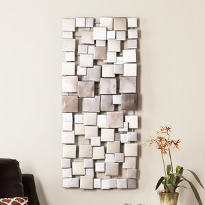 Contemporary Wall Art Decor modern & contemporary metal wall art you'll love | wayfair